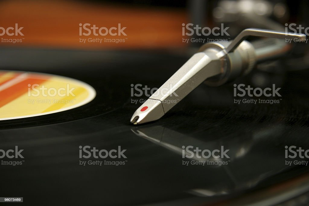 Vinyl Record royalty-free stock photo