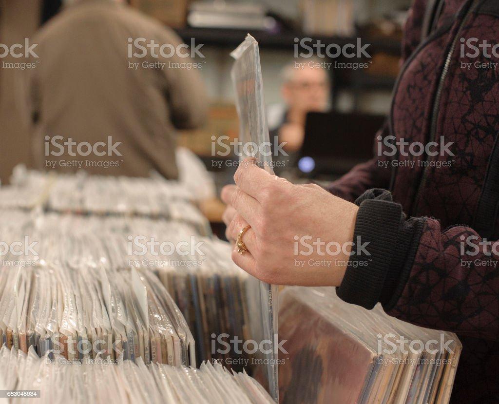 Vinyl Records foto de stock royalty-free
