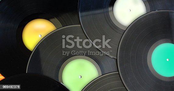 istock Vinyl Records 969492378