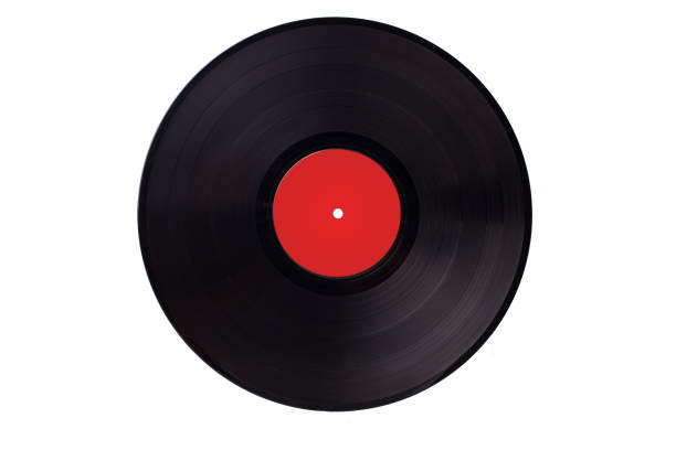 vinyl vynil record play music vintage. - records stock photos and pictures