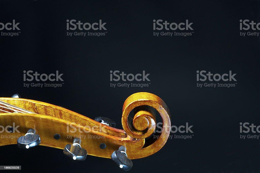 Viola da gaba (old cello) stock photo
