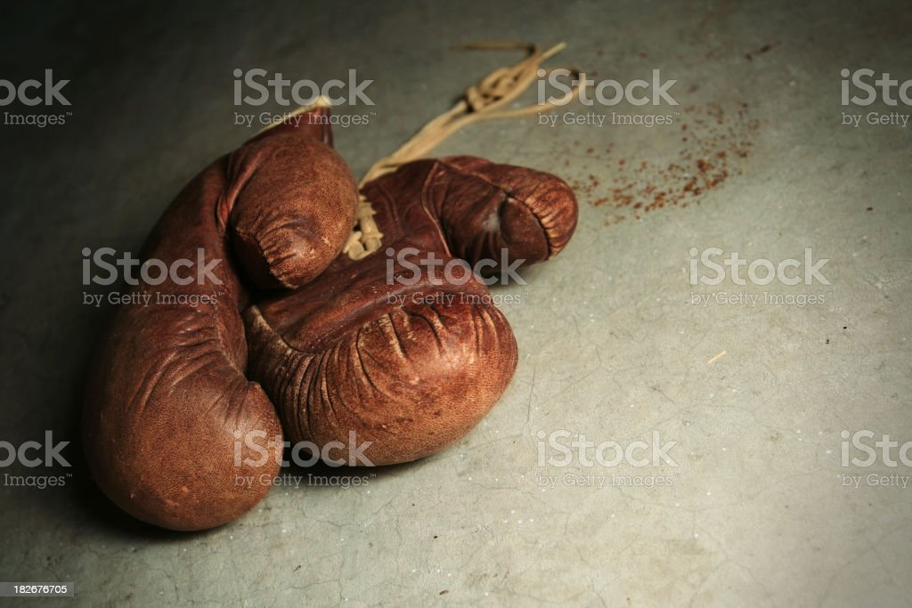 Violence Gloves royalty-free stock photo