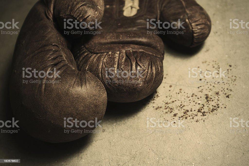 Violence Gloves royalty-free stock photo