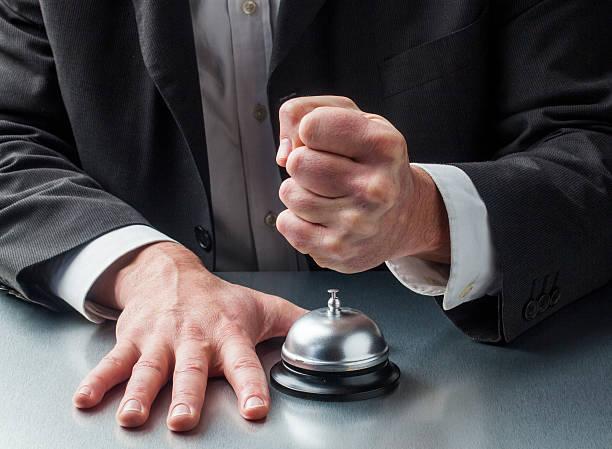 Gewalt im Kundenservice – Foto