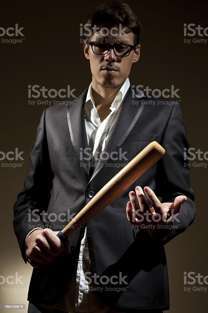 Violence royalty-free stock photo