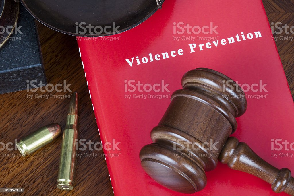 Violence prevention royalty-free stock photo
