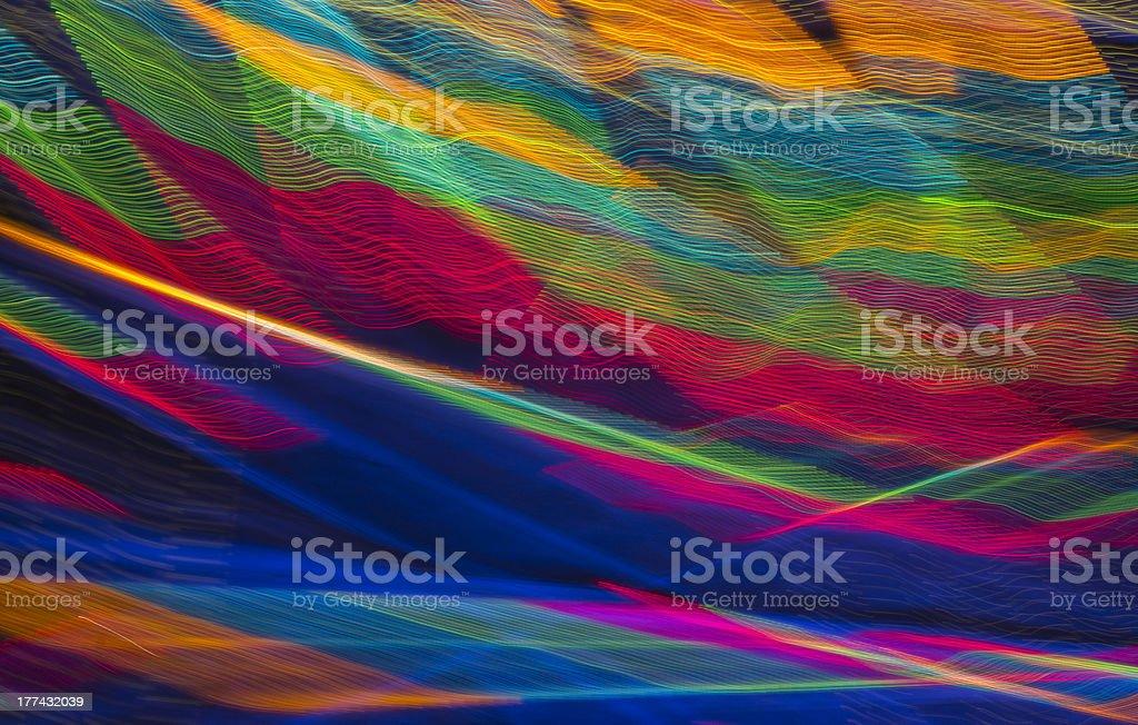 violent colors stock photo
