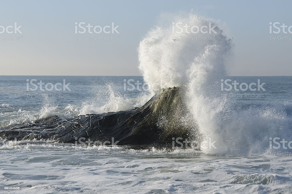 Violent Waves royalty-free stock photo