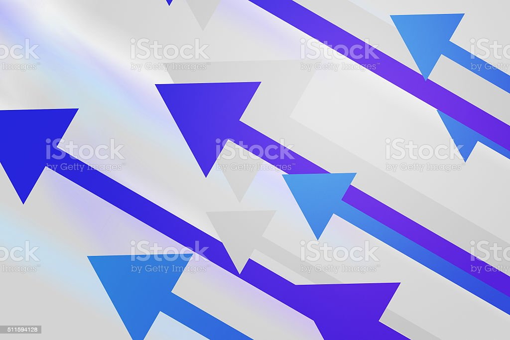 Violet Arrows Abstract Background stock photo