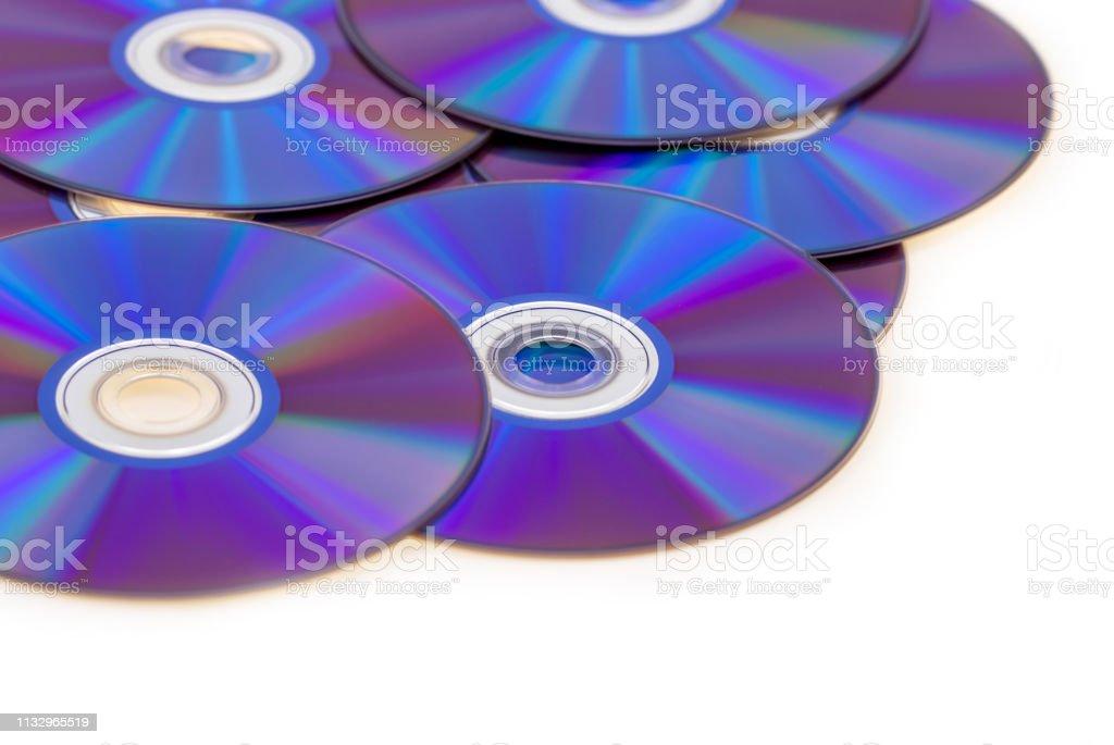 violet blu ray background DVD rom burning royalty-free stock photo