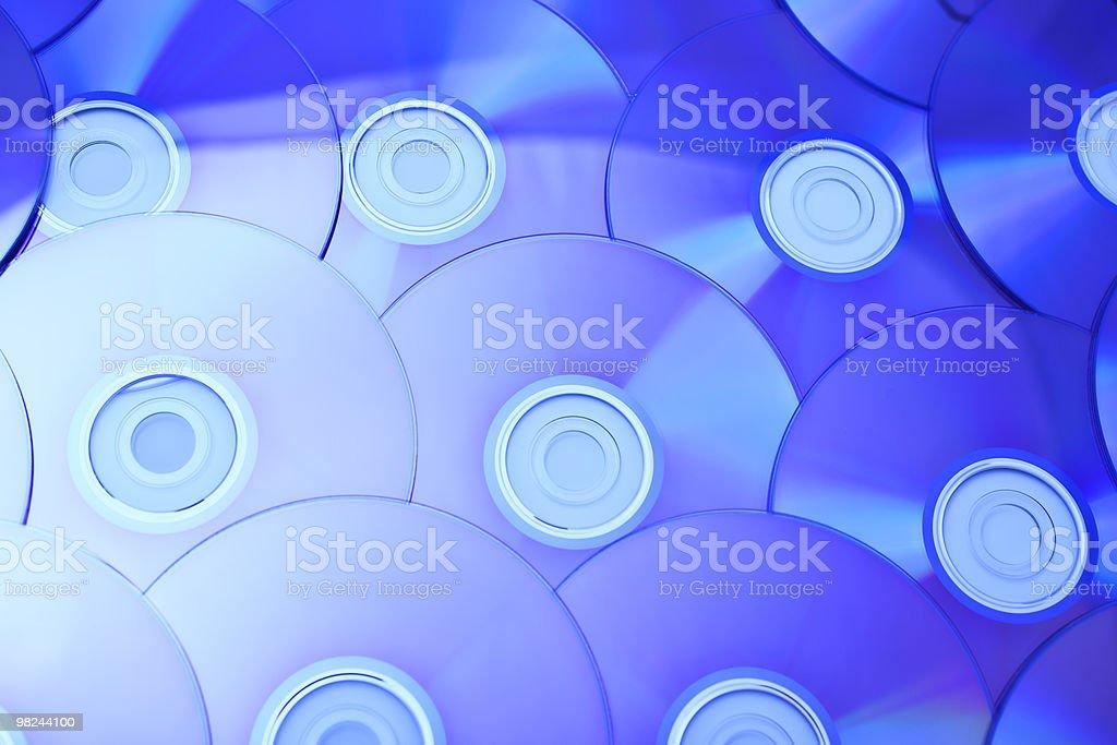 violet cd close up royalty-free stock photo