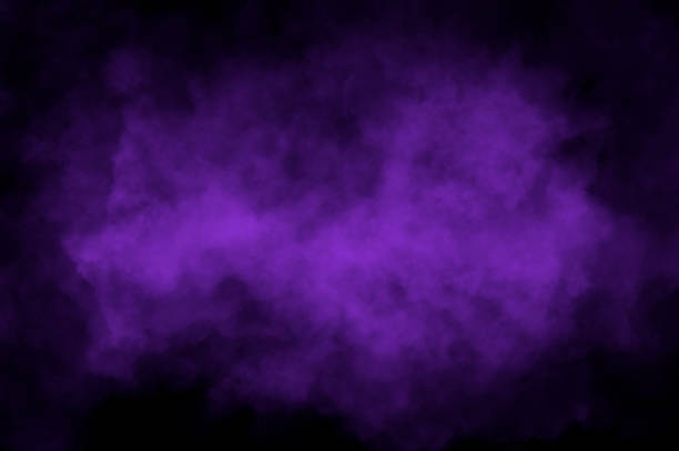 violet cloud - violet stock photos and pictures