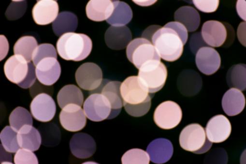 Violett Färg Bokeh Och Oskärpa Av Ljus-foton och fler bilder på Abstrakt