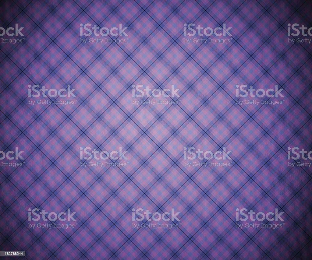 Violet Scottish Background royalty-free stock photo
