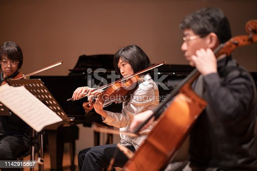 Violin and cello concert