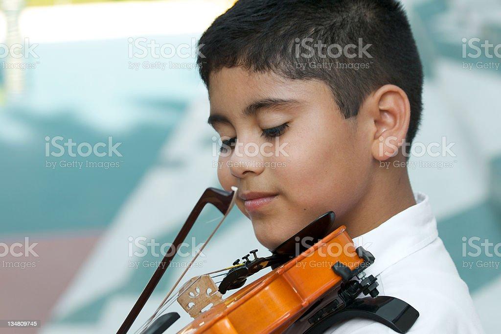 Violin Concert stock photo