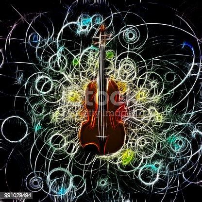 istock Violin Design 991029494