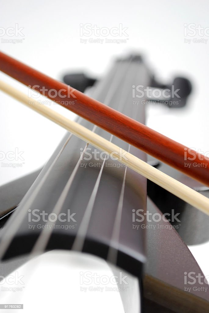 Violin music royalty-free stock photo