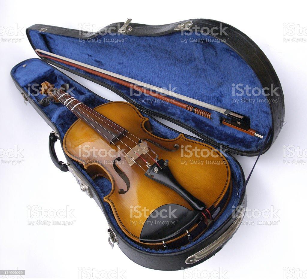 violin perspective stock photo