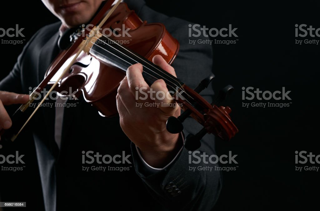 Violin Player Hands Musician Virtuoso Violinist Playing Violin