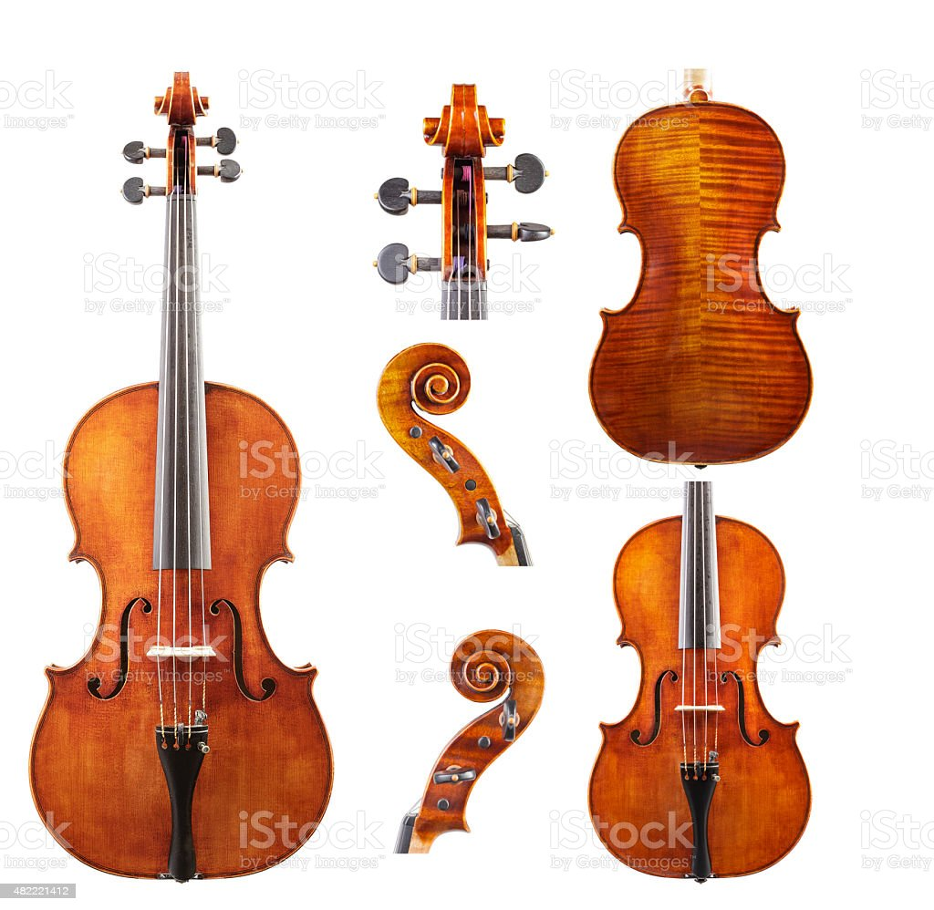 Violin Set - Stock İmage stock photo
