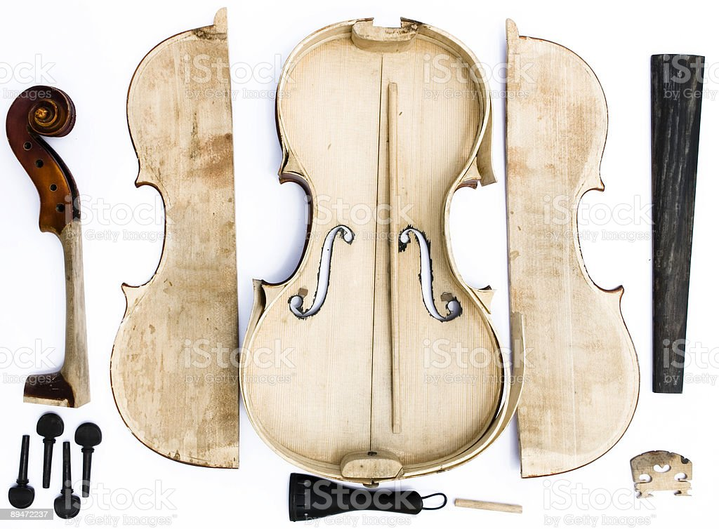 Violin2 royalty-free stock photo