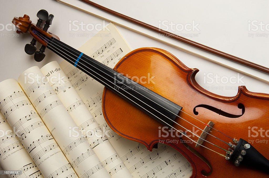 Violine stock photo