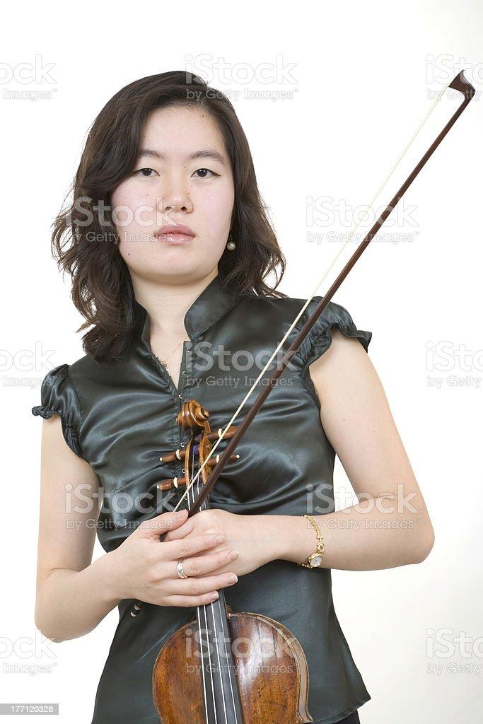 Violinist 1 royalty-free stock photo
