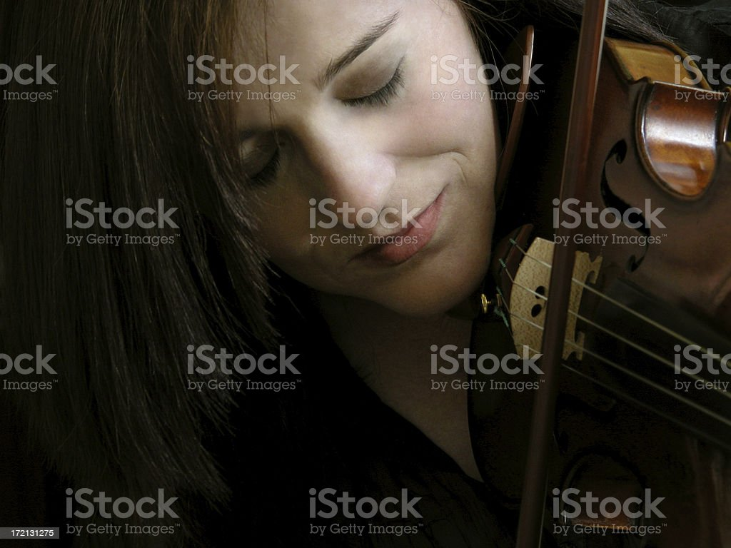 Violinist 2 royalty-free stock photo