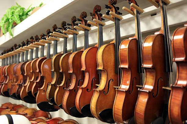 Best Violin Shop Stock Photos, Pictures & Royalty-Free Images - iStock