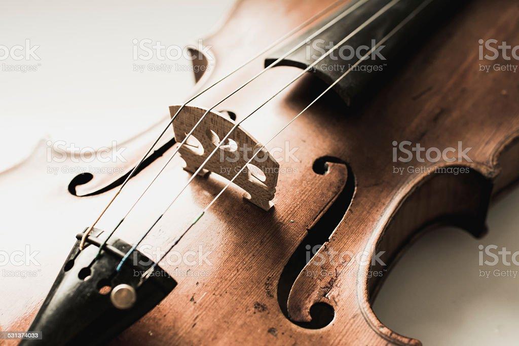 violin,very soft def of field stock photo