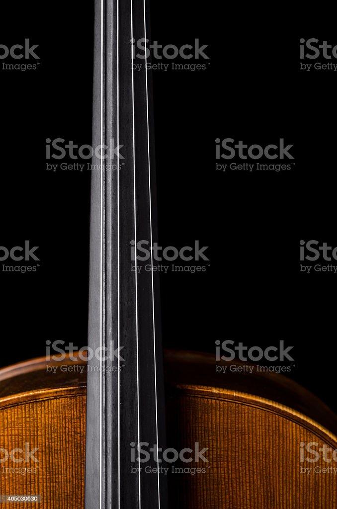 Violoncello - violin stock photo