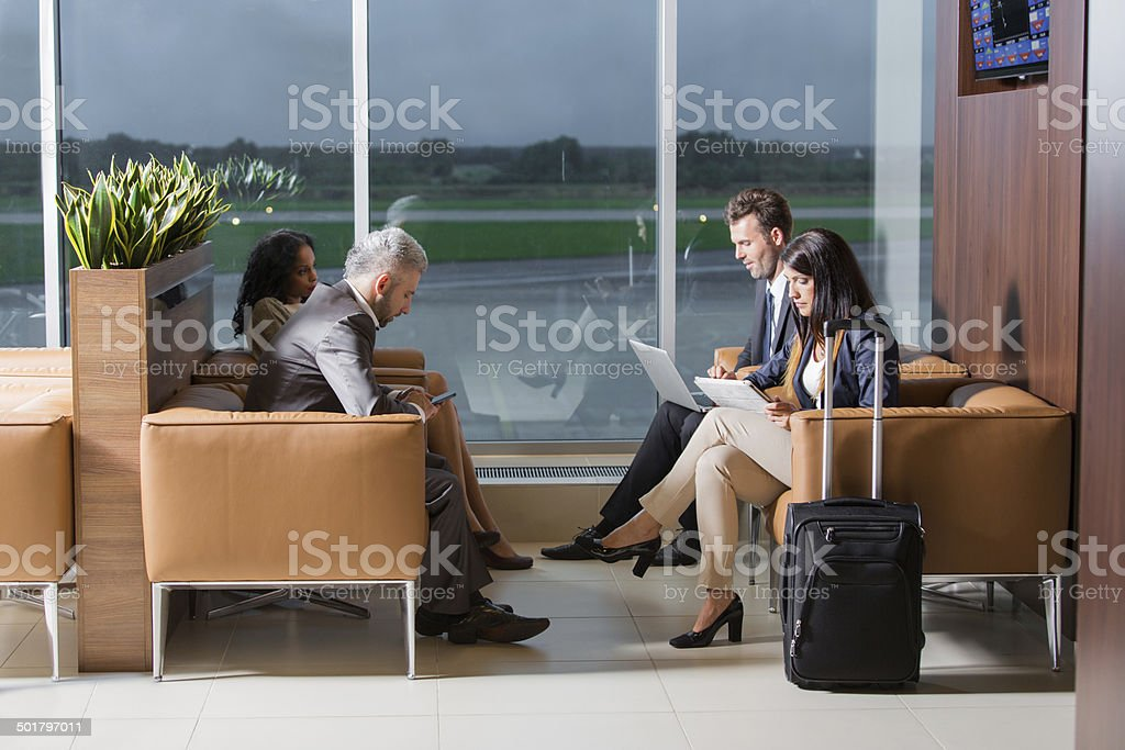 Vip lounge stock photo