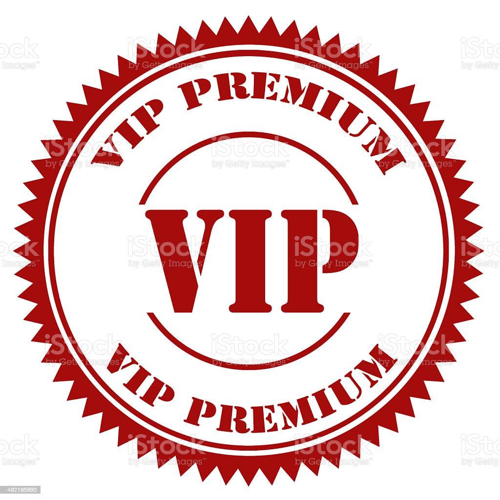 VIP-TAMPON - Photo de 2015 libre de droits