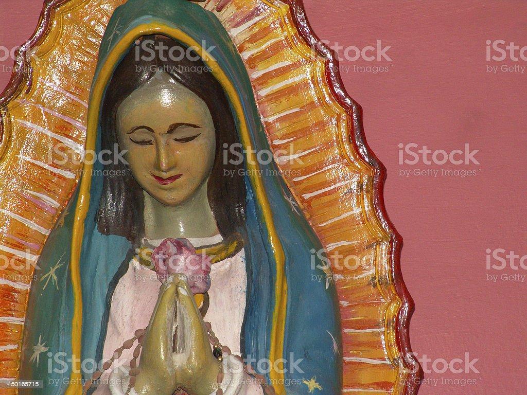 Virgen de Guadalupe stock photo