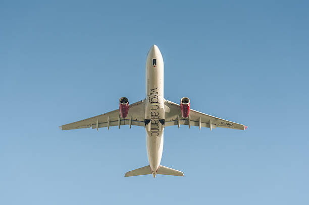 Virgin Atlantic Airbus A330 stock photo