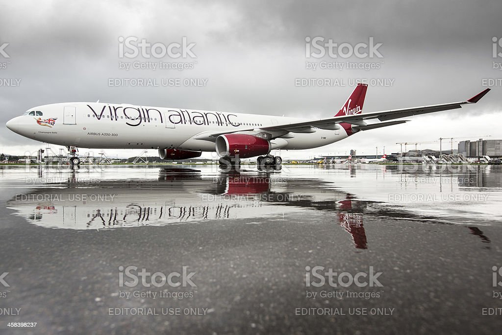 Virgin Atlantic Airways Airbus A330-300 stock photo