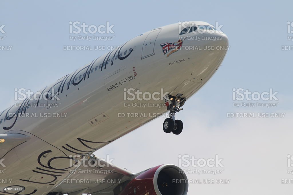 Virgin Atlantic stock photo