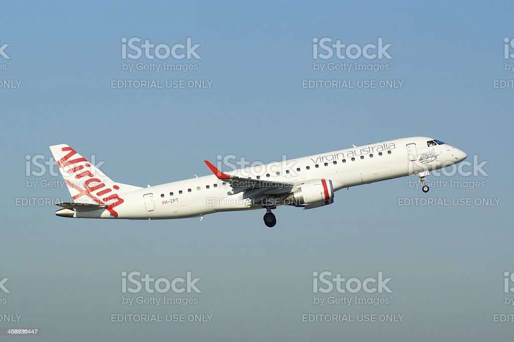 Virgin Australia stock photo