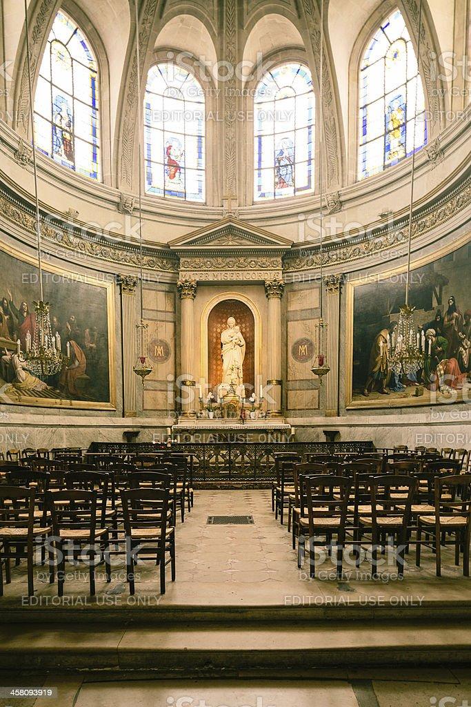Virgin Mary Catholic Altar Chapel royalty-free stock photo