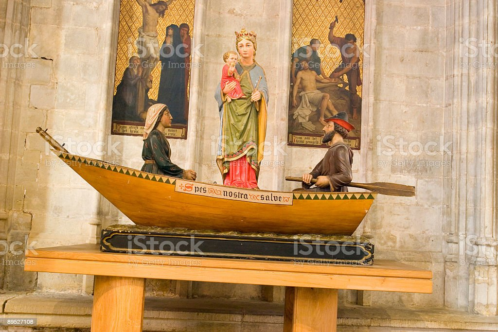 Virgin Mary stock photo