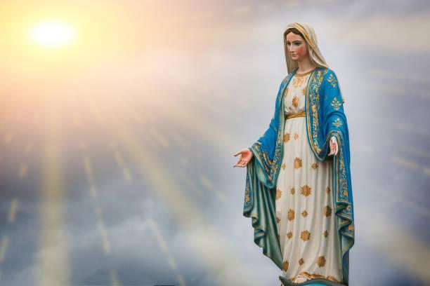La Vierge Marie Banque Dimages Et Photos Libres De Droit