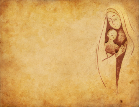 Virgin Mary with the Child Jesus