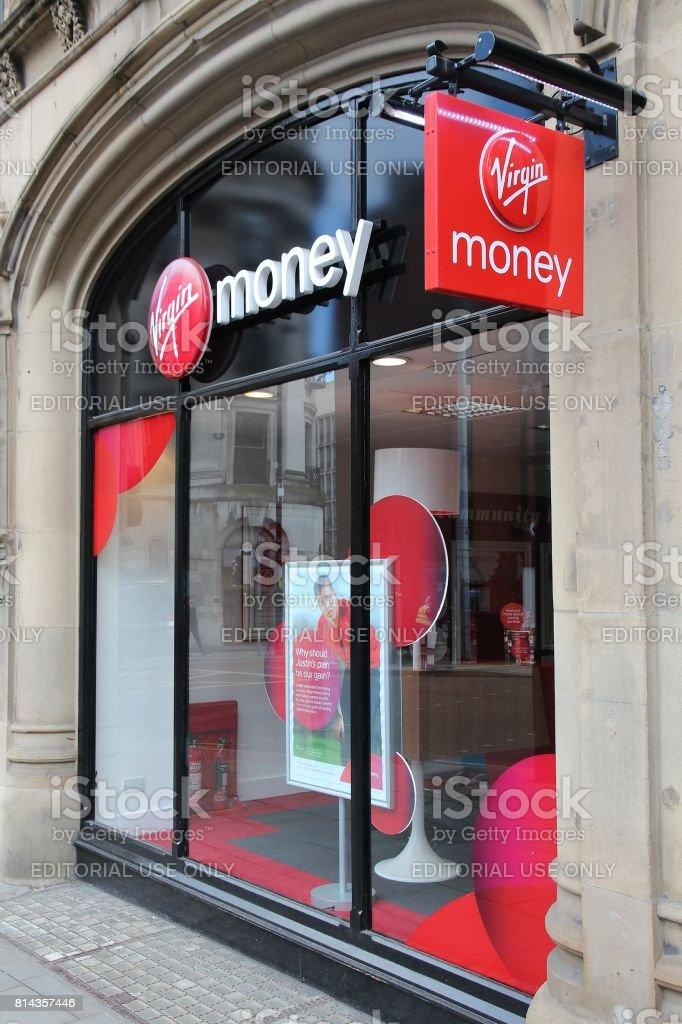 Virgin Money stock photo