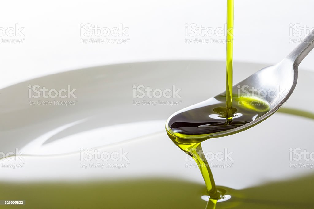 Virgin Oil stock photo