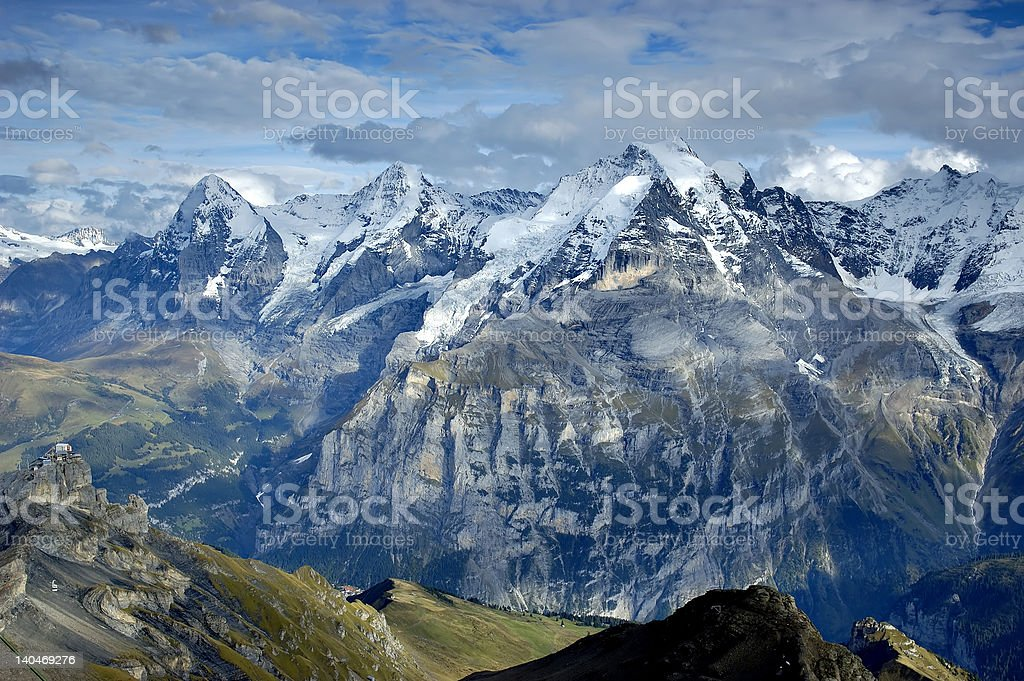 Jungfrau royalty-free stock photo