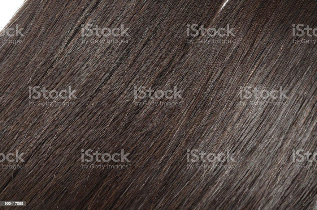 vierge remy cheveux humain noirs tissages extensions - Photo de Beauté libre de droits
