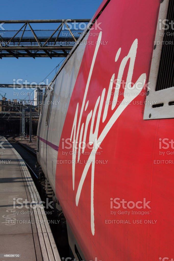 Virgin Train East Coast stock photo