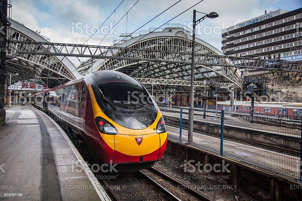 Virgin Train. stock photo