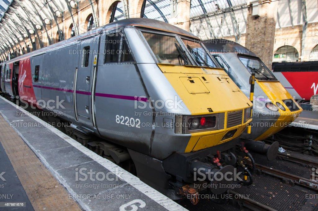 Virgin Trains East Coast stock photo